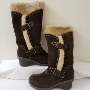 Baretrap Brown Boots 6.5